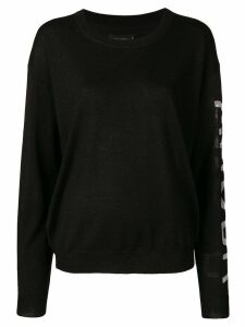 Zadig & Voltaire round neck sweater - Black