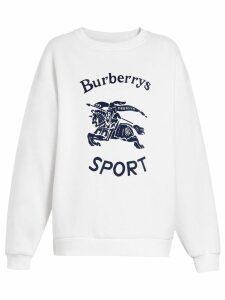 Burberry Archive logo sweatshirt - White