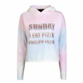 Philipp Plein Sparkle Hooded Sweatshirt