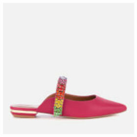 Kurt Geiger London Women's Princely Leather Pointed Mules - Pink - UK 4 - Pink