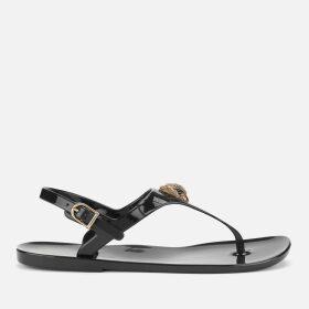 Kurt Geiger London Women's Maddison Flat Sandals - Black - UK 8 - Black