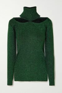 Silvia Tcherassi - Corinilla Floral-print Silk-blend Satin And Organza Blouse - Yellow