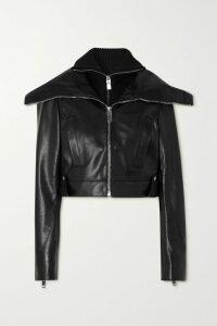 Philosophy di Lorenzo Serafini - Hooded Cutout Cotton-blend Sweater - Cream