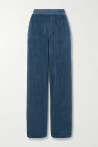 SIMON MILLER - Wells Ribbed Mélange Tencel-blend Midi Dress - Black
