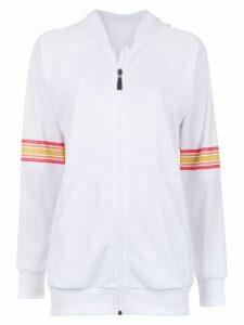 Track & Field Tape hoodie - White
