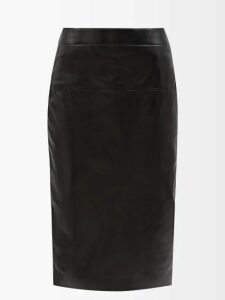 Valentino - Striped Silk Georgette Blouse - Womens - Red Multi