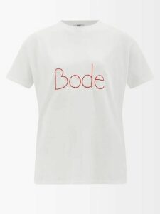 Isa Arfen - Flocked Polka Dot Wool Sweater - Womens - Camel