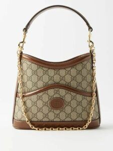 The Elder Statesman - Leo Spot-jacquard Cashmere Sweater - Womens - Blue Multi