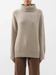 Isabel Marant Étoile - Akala Lace-trimmed Cotton Mini Skirt - Womens - Light Yellow