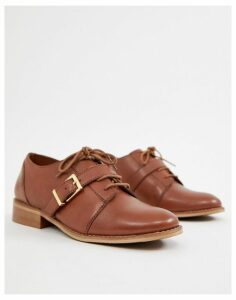 Park Lane leather brogues-Tan