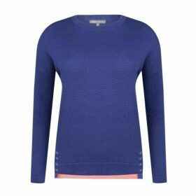 Navy Crew Neck Leisure Jumper