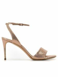 Casadei ankle strap sandals - Neutrals