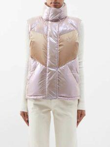 Mara Hoffman - Luna V-neck Organic Cotton-gauze Midi Dress - Womens - Red