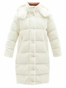 Miu Miu - Pompom Trim Cotton Poplin Peasant Blouse - Womens - Black Multi