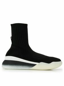 Stella McCartney Alta knit sneakers - Black