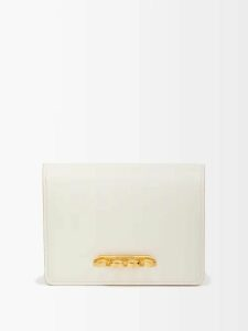 Calvin Klein 205w39nyc - Oversized Roll Neck Cotton Sweatshirt - Womens - Pink