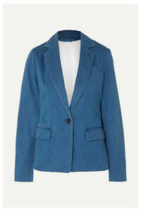 Joseph - Cotton-chambray Blazer - Indigo