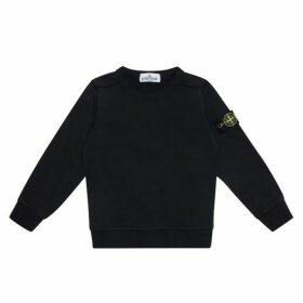Stone Island Junior Logo Classic Sweatshirt
