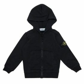 Stone Island Junior Hooded Zip Sweatshirt