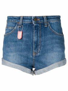 Philosophy Di Lorenzo Serafini denim patch shorts - Blue