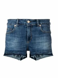 Liu Jo regular denim shorts - Blue