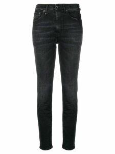 R13 high waisted skinny jeans - Black