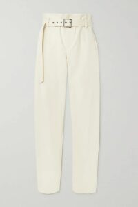 Balenciaga - Printed Ribbed-knit Top - Lilac