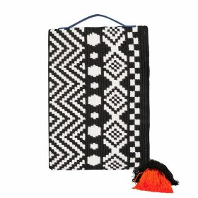 Manley - Boxter Leather Tee Burgundy & White