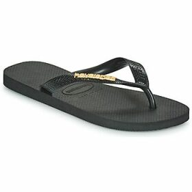 Havaianas  HAVAIANAS LOGO METALLIC  women's Flip flops / Sandals (Shoes) in Black
