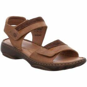 Josef Seibel  Debra 19 Womens Leather Sandals  women's Sandals in Brown