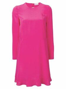 RedValentino bow back dress - PINK