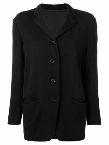 Romeo Gigli Pre-Owned 1990 jacket - Black