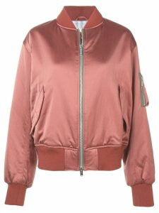 Golden Goose long sleeved bomber jacket - Pink