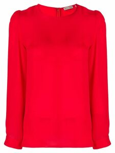 Emilio Pucci long sleeve blouse - Red