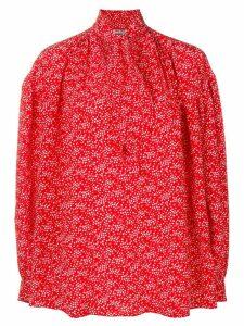 Miu Miu pussy bow blouse - Red