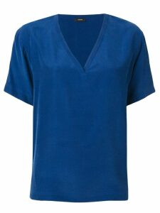 Joseph V-neck blouse - Blue