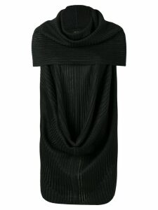 Rick Owens ribbed style blouse - Black