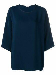 P.A.R.O.S.H. dropped shoulder blouse - Blue