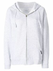 Forte Dei Marmi Couture oversized zip up hoodie - Grey