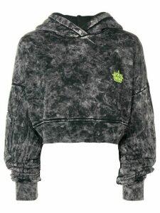 Amiri cropped hoodie - Black