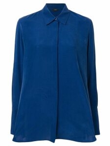 Joseph concealed front shirt - Blue