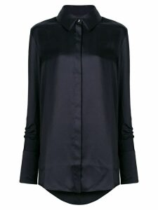 Victoria Victoria Beckham long-sleeve fitted shirt - Black