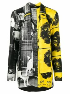 JW Anderson Gilbert & George printed shirt - Black