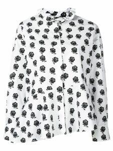 Kenzo roses printed shirt - White