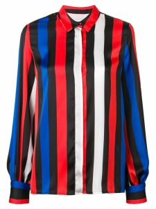MSGM bold striped shirt - Black