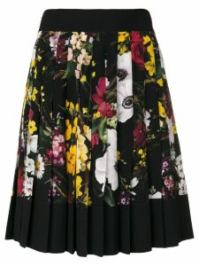 Dolce & Gabbana floral print pleated skirt - Multicolour