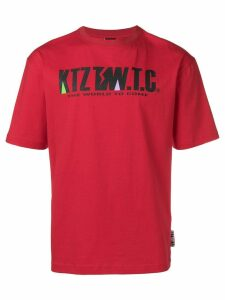 KTZ mountain letter T-shirt - Red