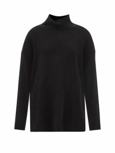 Giambattista Valli - Gathered Silk Chiffon Blouse - Womens - Dark Burgundy