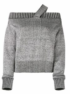 RtA off shoulder jumper - Grey
