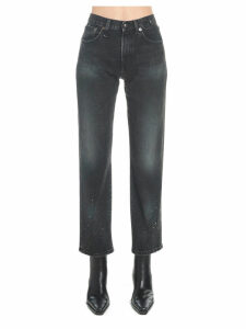 R13 stove Pipe Jeans